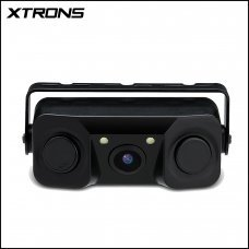Xtrons CAM716 3 IN 1 170° Wide Angle Reversing Camera With Built In Parking Sensors