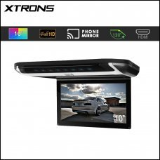 "Xtrons CR108HDS 10"" HD Ultra Thin Digital Screen Roof Mounted Monitor"