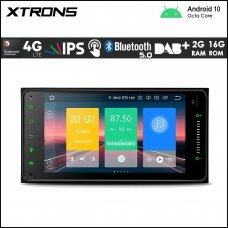 "Xtrons IN70HGTL Toyota 7"" Android Navigation Multimedia Player with Built-in DSP and 4G"