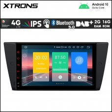 "Xtrons IN9090BL BMW 3 Series 9"" Car Android Multimedia Navigation System with Built-in 4G"