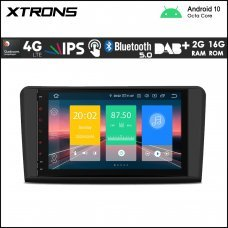 "Xtrons IN90M164L 9"" Mercedes-Benz (ML/GL Class) Custom Fit Android Car Stereo Multimedia Navigation System With 4G"