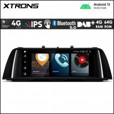"Xtrons QB10FVNB BMW 5 Series F10/F11 NBT 10.25"" Car Android Multimedia Navigation System with Built-in 4G"