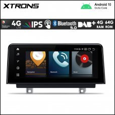 "Xtrons QB10NBTH BMW 3 & 4 Series NBT 10.25"" Car Android Multimedia Navigation System with Built-in 4G"