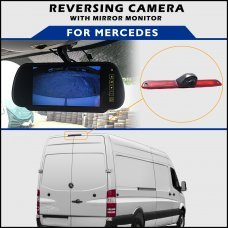 Mercedes Sprinter 2006+ Brake Light Reversing Camera With Mirror Monitor