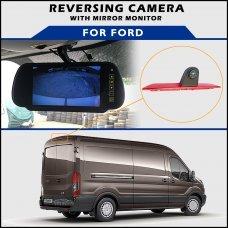Ford Transit Brake Light 2014-2016 Reversing Camera With Mirror Monitor