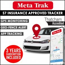 Meta Trak Pulsar S7 Insurance Approved Tracker - 3 years Subscription Included