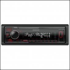 Kenwood KMM 205 Digital Media Receiver Front USB/CD and Aux Car Stereo