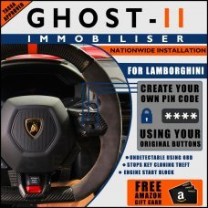 Autowatch Ghost 2 Immobiliser For Lamborghini - Mobile Installation FREE £25 Amazon Gift Voucher