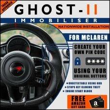 Autowatch Ghost 2 Immobiliser For Mclaren - Mobile Installation FREE £25 Amazon Gift Voucher