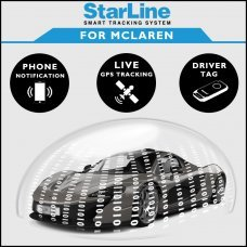StarLine Smart Tracking Security For Mclaren Fully Fitted