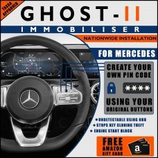 Autowatch Ghost 2 Immobiliser For Mercedes - Mobile Installation FREE £25 Amazon Gift Voucher