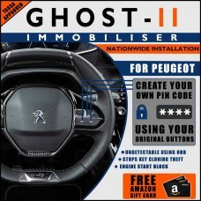 Autowatch Ghost 2 Immobiliser For Peugeot - Mobile Installation FREE £25 Amazon Gift Voucher