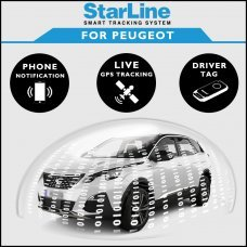 StarLine Smart Tracking Security For Peugeot Fully Fitted