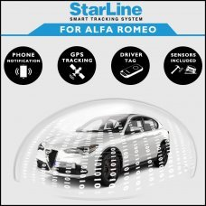 StarLine Smart Tracking Security For Alfa Romeo Fully Fitted