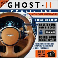 Autowatch Ghost 2 Immobiliser For Aston Martin - Mobile Installation FREE £25 Amazon Gift Voucher