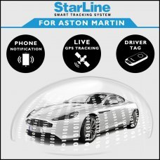 StarLine Smart Tracking Security For Aston Martin Fully Fitted