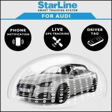 StarLine Smart Tracking Security For Audi Fully Fitted