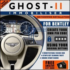 Autowatch Ghost 2 Immobiliser For Bentley - Mobile Installation FREE £25 Amazon Gift Voucher