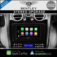 Bentley GT Continental & Flying Spur Essential Kenwood Radio Upgrade