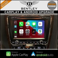 Bentley GT Continental & Flying Spur CarPlay & Android Auto Integration On Factory Radio