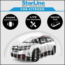 StarLine Smart Tracking Security For Citroen Fully Fitted