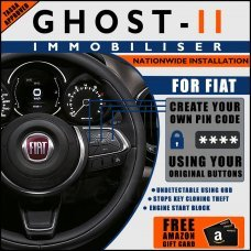 Autowatch Ghost 2 Immobiliser For Fiat - Mobile Installation FREE £25 Amazon Gift Voucher