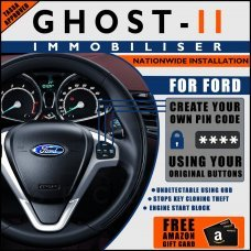 Autowatch Ghost 2 Immobiliser For Ford - Mobile Installation FREE £25 Amazon Gift Voucher