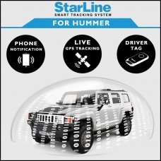 StarLine Smart Tracking Security For Hummer Fully Fitted