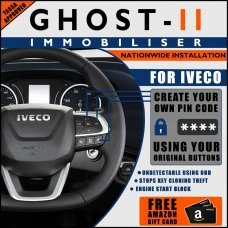 Autowatch Ghost 2 Immobiliser For Iveco - Mobile Installation FREE £25 Amazon Gift Voucher