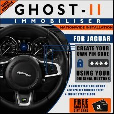 Autowatch Ghost 2 Immobiliser For Jaguar - Mobile Installation FREE £25 Amazon Gift Voucher
