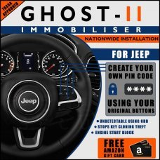 Autowatch Ghost 2 Immobiliser For Jeep - Mobile Installation FREE £25 Amazon Gift Voucher