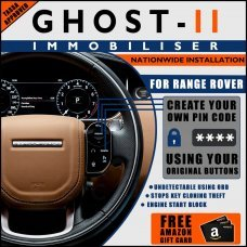 Autowatch Ghost 2 Immobiliser For Land Rover/Range Rover - Mobile Installation FREE £25 Amazon Gift Voucher