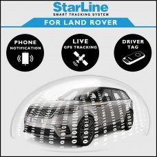 StarLine Smart Tracking Security For Land Rover/Range Rover Fully Fitted