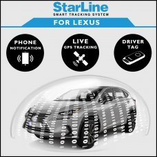 StarLine Smart Tracking Security For Lexus Fully Fitted