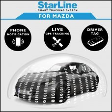 StarLine Smart Tracking Security For Mazda Fully Fitted