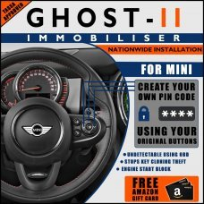 Autowatch Ghost 2 Immobiliser For Mini - Mobile Installation FREE £25 Amazon Gift Voucher