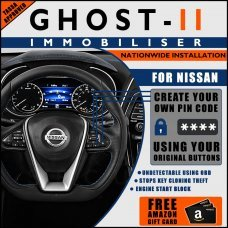 Autowatch Ghost 2 Immobiliser For Nissan - Mobile Installation FREE £25 Amazon Gift Voucher