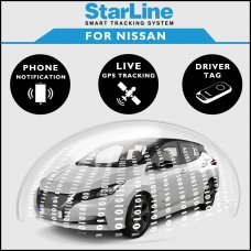 StarLine Smart Tracking Security For Nissan Fully Fitted