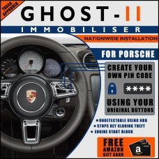 Autowatch Ghost 2 Immobiliser For Porsche - Mobile Installation FREE £25 Amazon Gift Voucher
