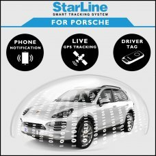 StarLine Smart Tracking Security For Porsche Fully Fitted