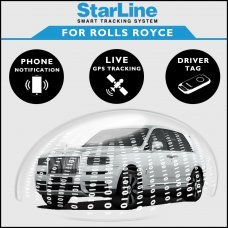 StarLine Smart Tracking Security For Rolls Royce Fully Fitted