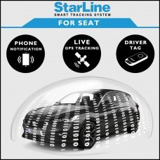 StarLine Smart Tracking Security For Seat Fully Fitted