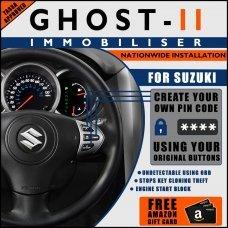 Autowatch Ghost 2 Immobiliser For Suzuki - Mobile Installation FREE £25 Amazon Gift Voucher