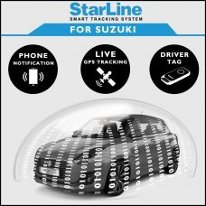 StarLine Smart Tracking Security For Suzuki Fully Fitted