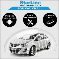 StarLine Smart Tracking Security For Vauxhall Fully Fitted