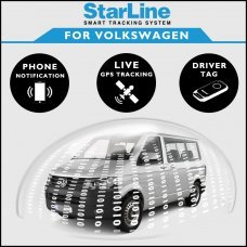 StarLine Smart Tracking Security For Volkswagen Fully Fitted