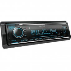Kenwood KMM BT504DAB Digital Media Receiver with Built-in Bluetooth & DAB+ Radio Car Stereo