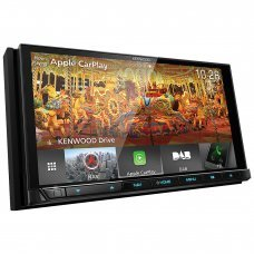 "Kenwood DNX9180DABS 6.8"" HD CarPlay Android Auto Bluetooth DAB GPS Screen"