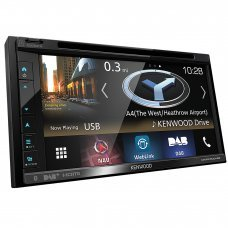 "Kenwood DNX-5180DABS 6.8"" Sat Nav Bluetooth DAB CarPlay Android Screen"