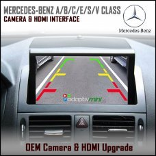 Adaptiv Mini ADVM-MB2 Mercedes Benz A/B/C/E/S/V Class Factory OEM Screen HDMI/Front & Rear Camera Upgrade